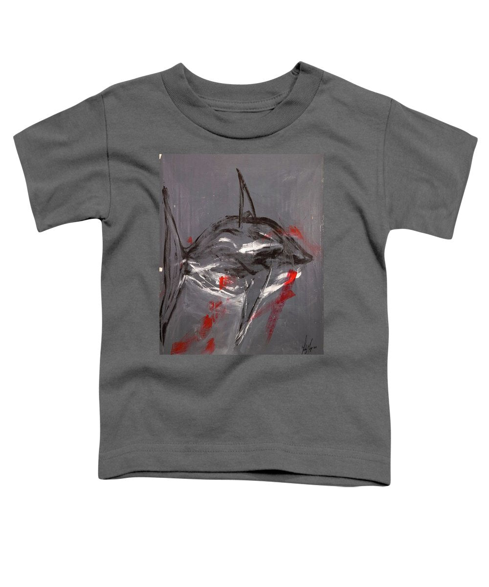 Shark Grey - Toddler T-Shirt