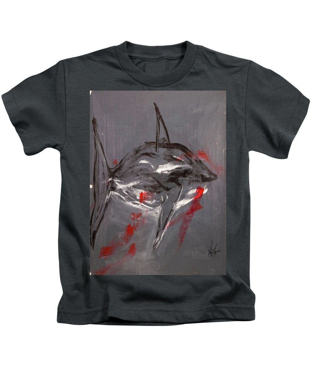 Shark Grey - Kids T-Shirt