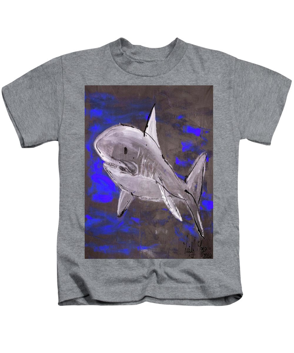 Blue Shark - Kids T-Shirt