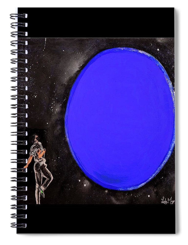 Blue Planet - Spiral Notebook