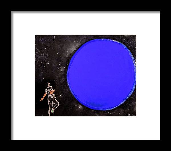 Blue Planet - Framed Print