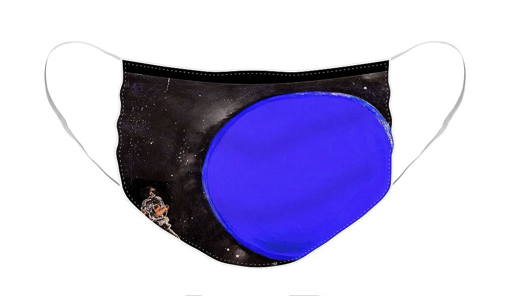 Blue Planet - Face Mask
