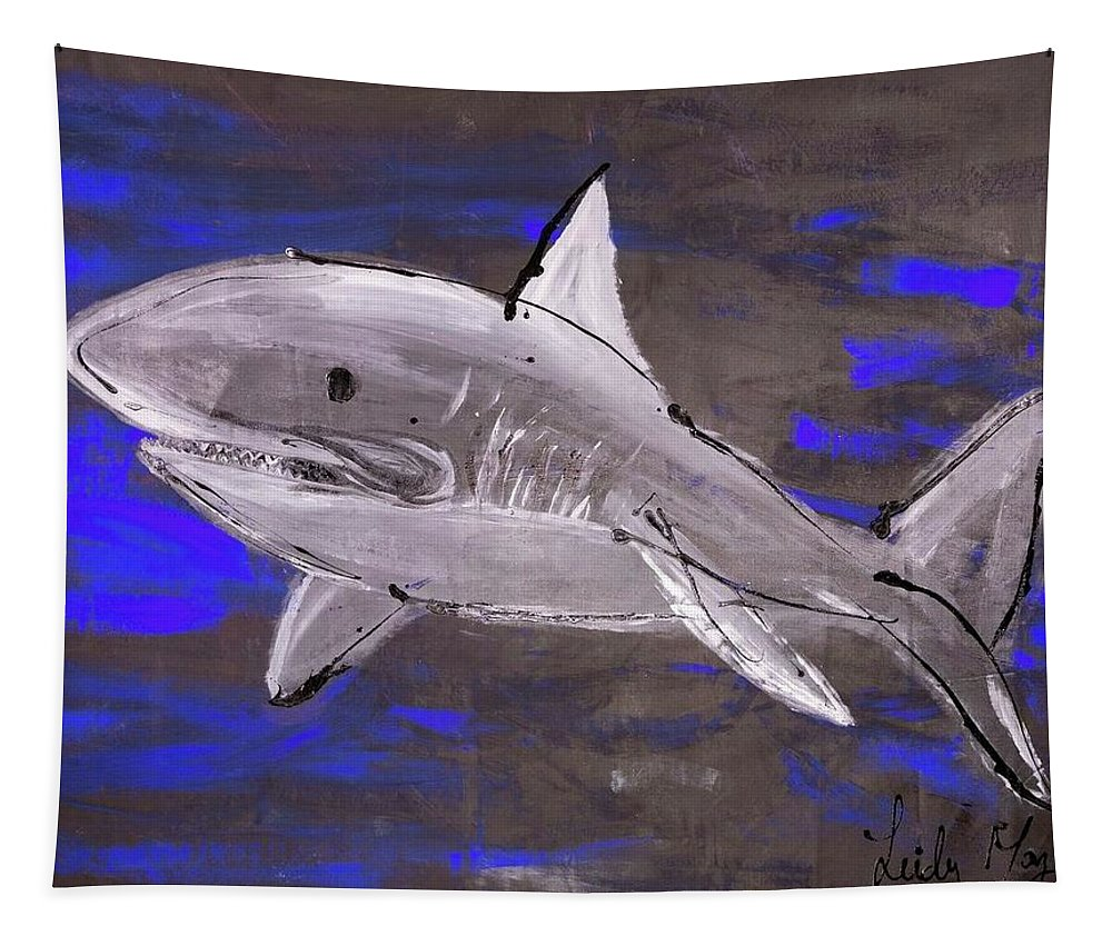 Blue Shark - Tapestry