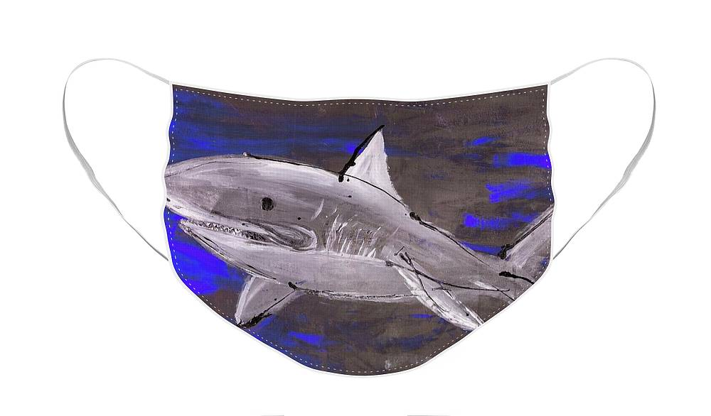 Blue Shark - Face Mask