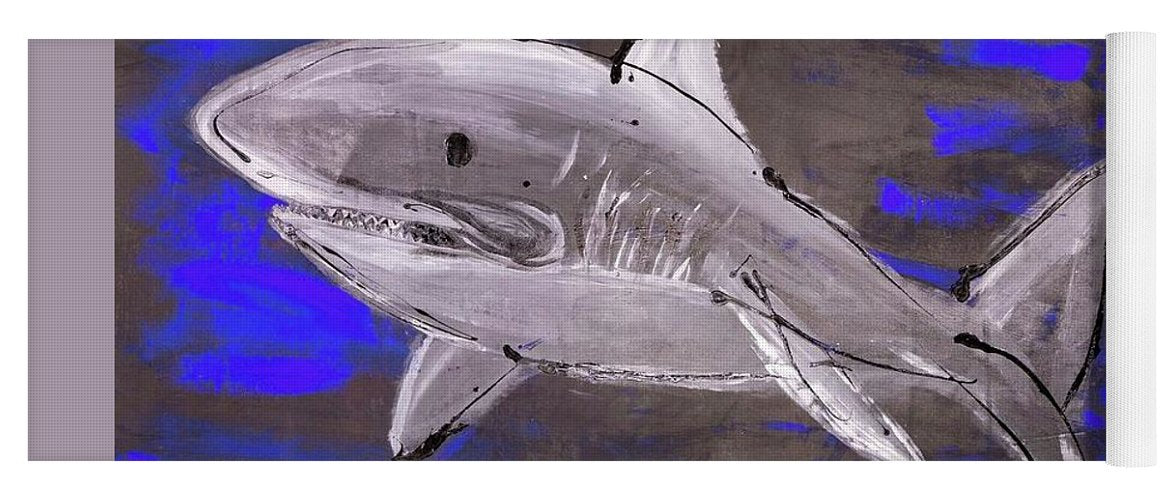 Blue Shark - Yoga Mat