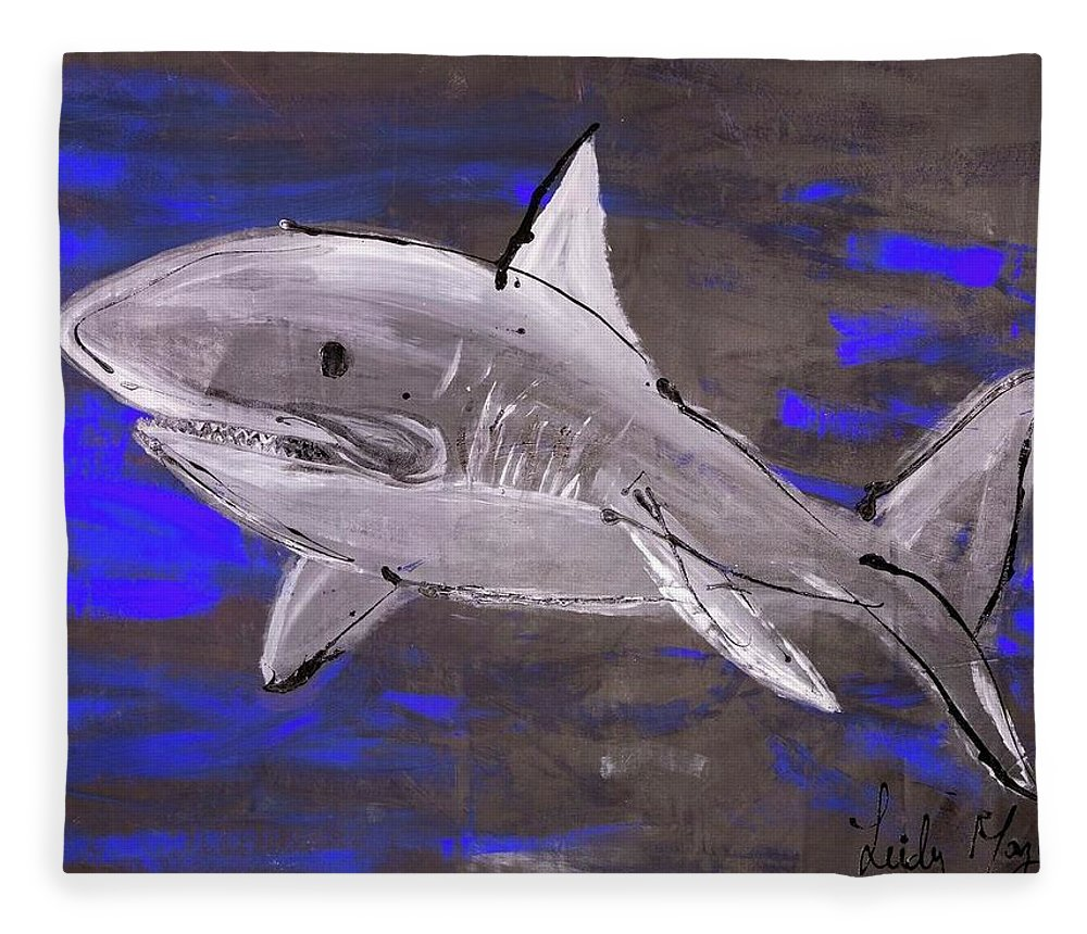 Blue Shark - Blanket
