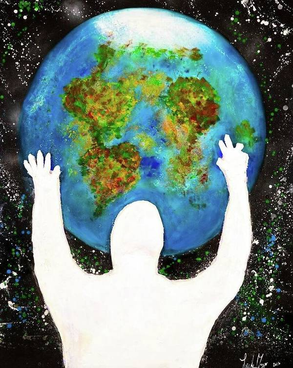 Earth - Art Print