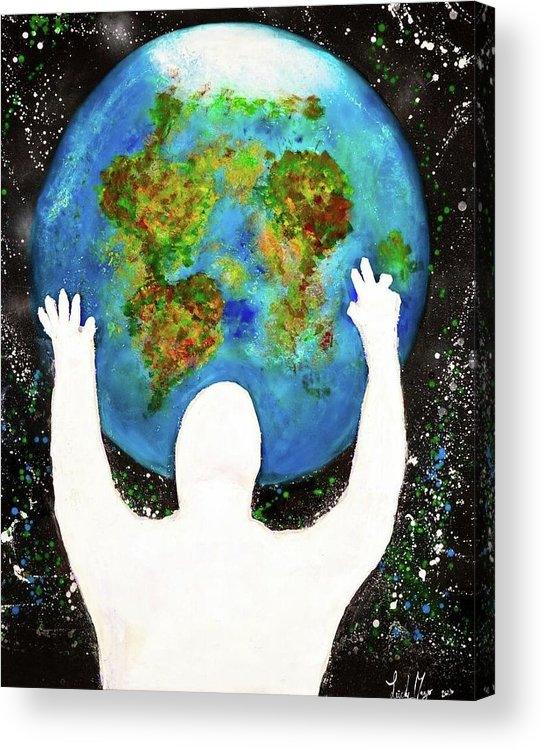 Earth - Acrylic Print