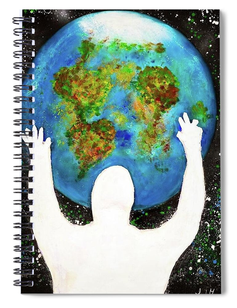 Earth - Spiral Notebook