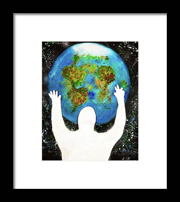 Earth - Framed Print