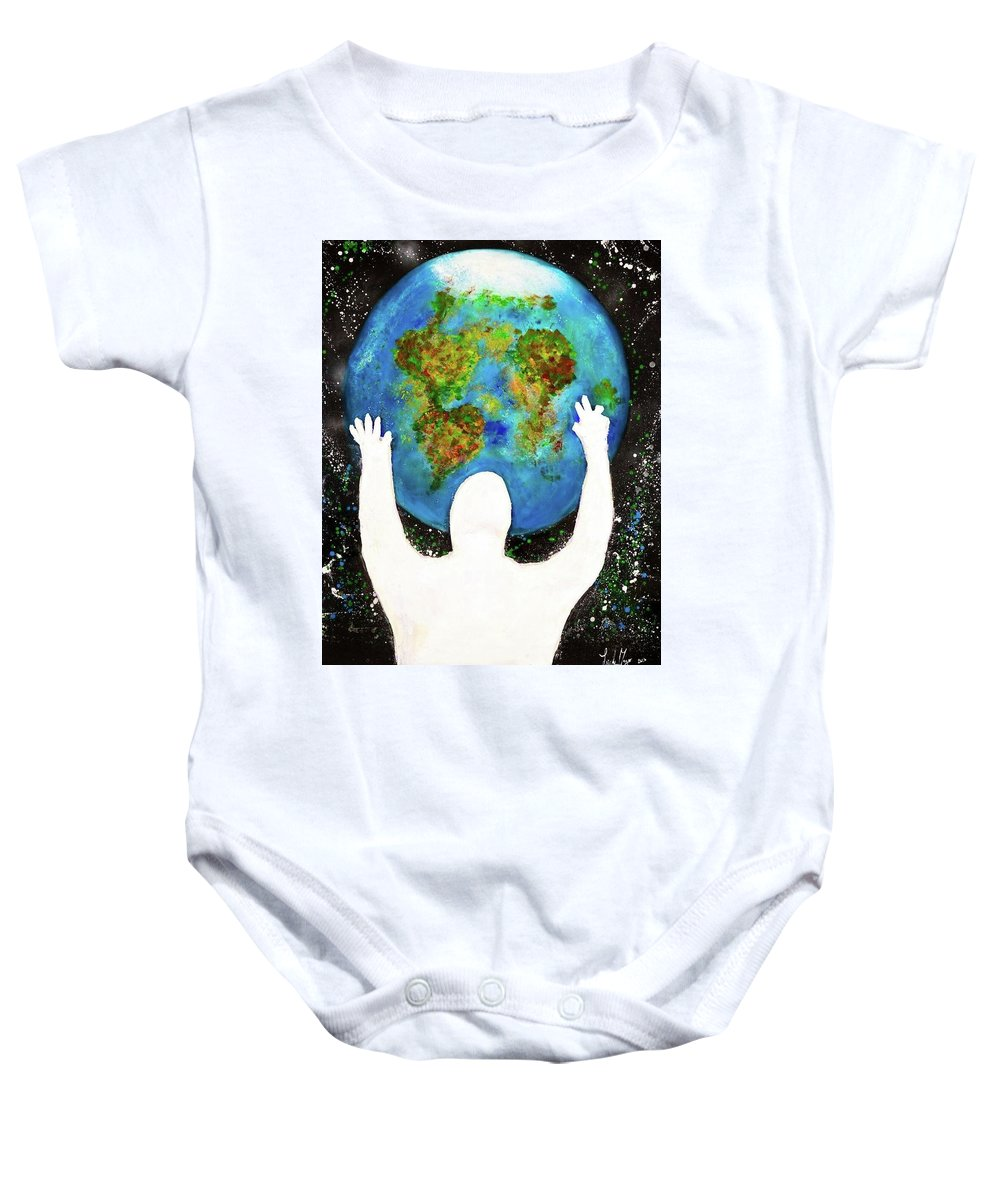 Earth - Baby Onesie