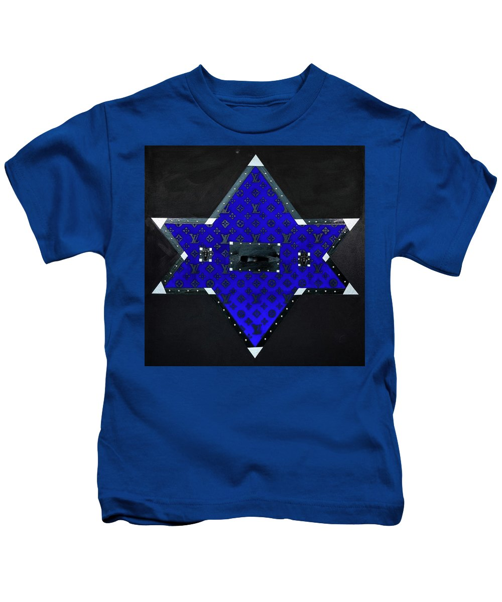 Gray Star - Kids T-Shirt