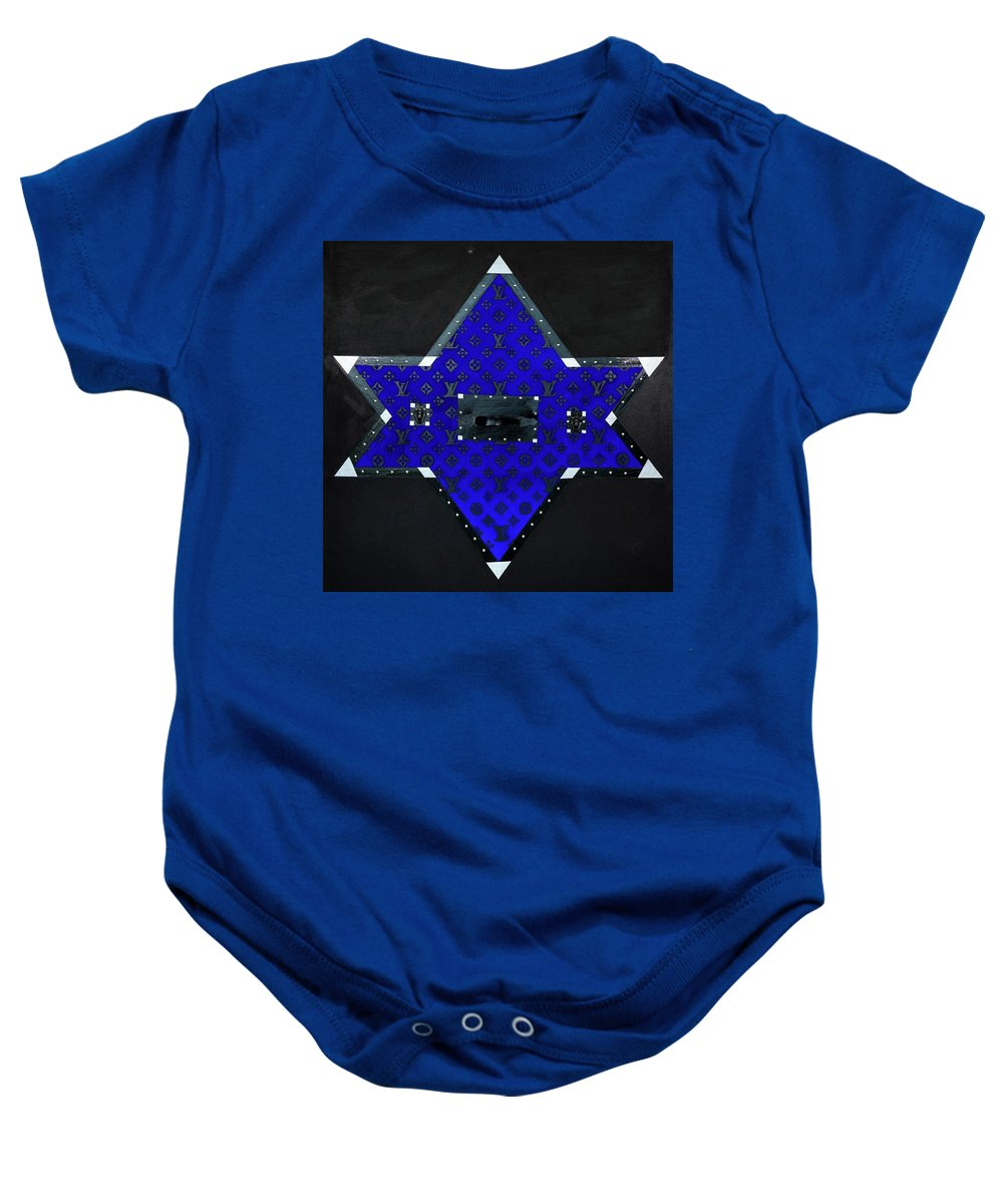 Gray Star - Baby Onesie