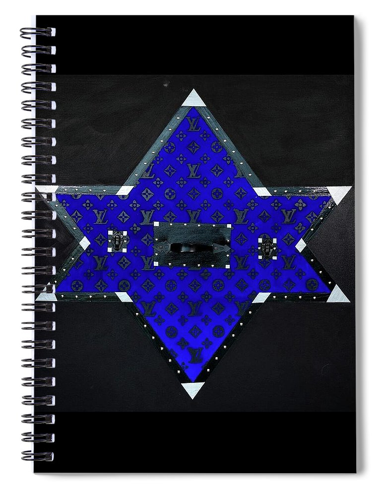 Gray Star - Spiral Notebook