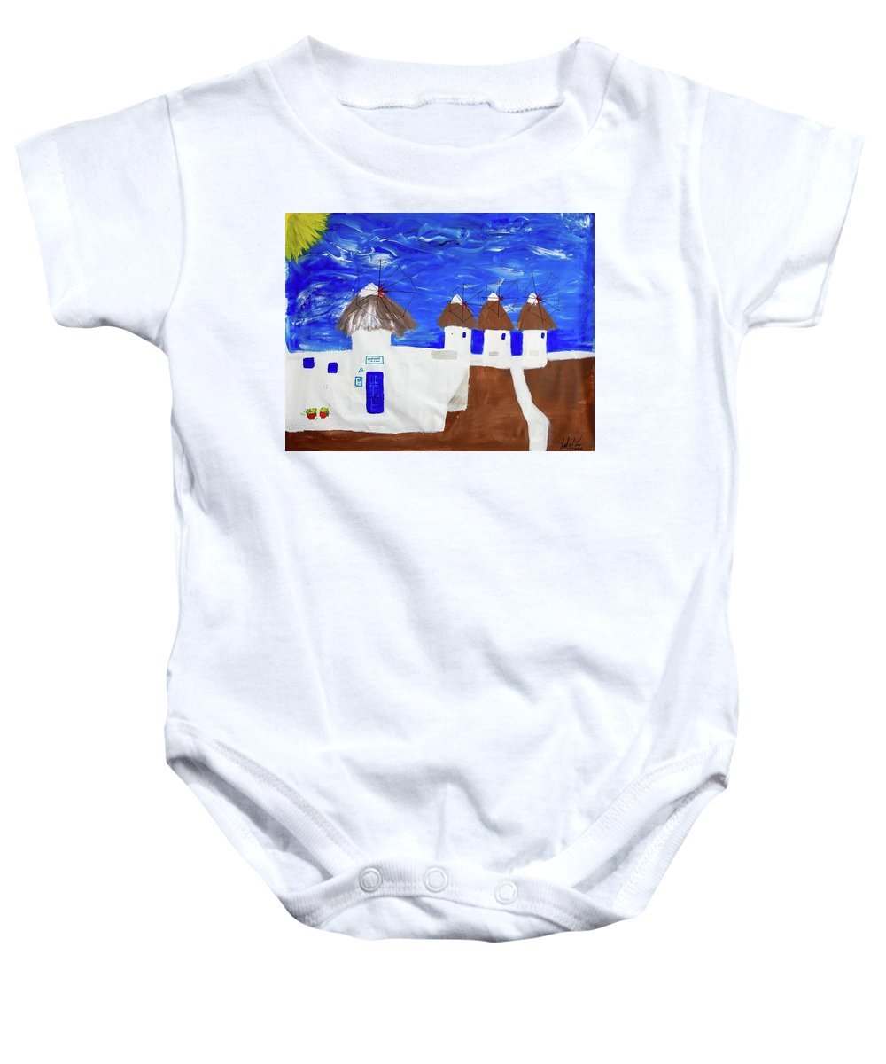 Greece  - Baby Onesie