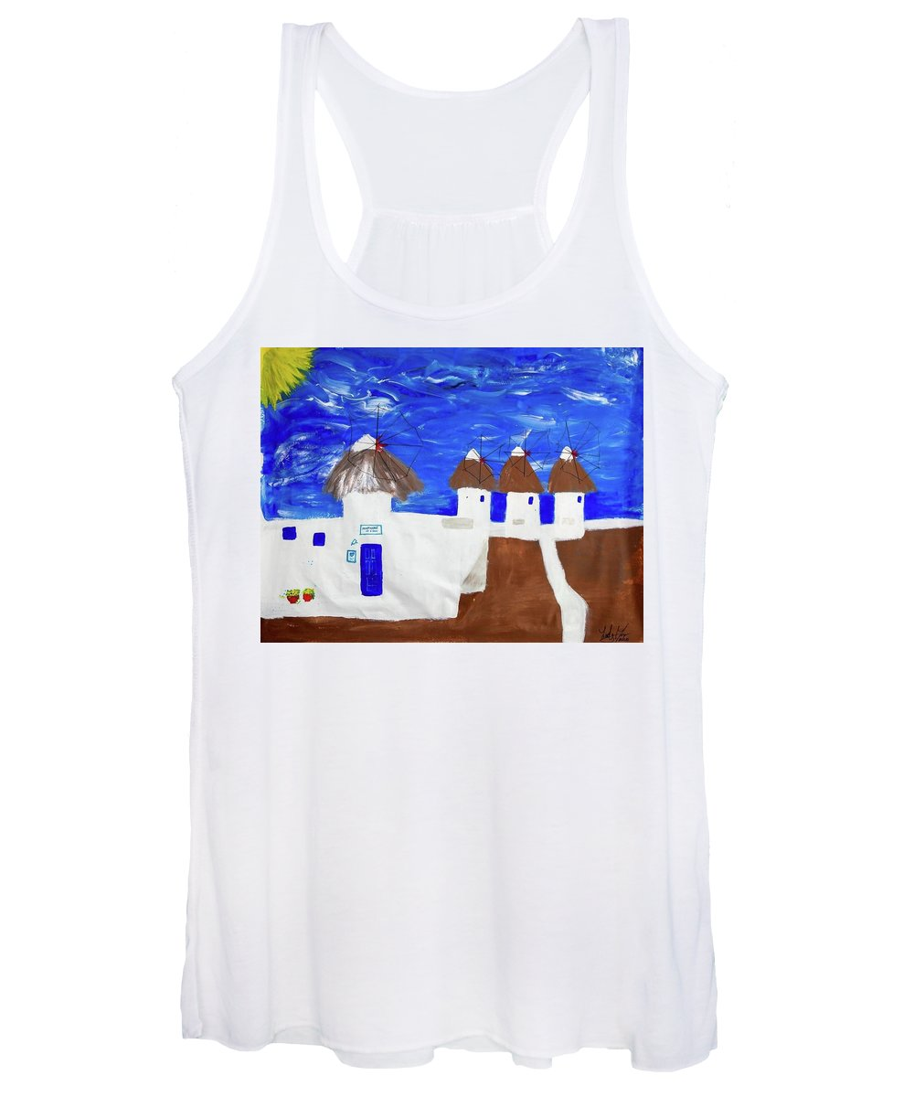 Greece  - Women's Tank Top
