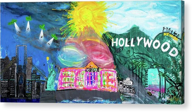 Hollywood - Acrylic Print
