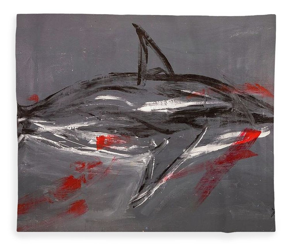 Shark Grey - Blanket