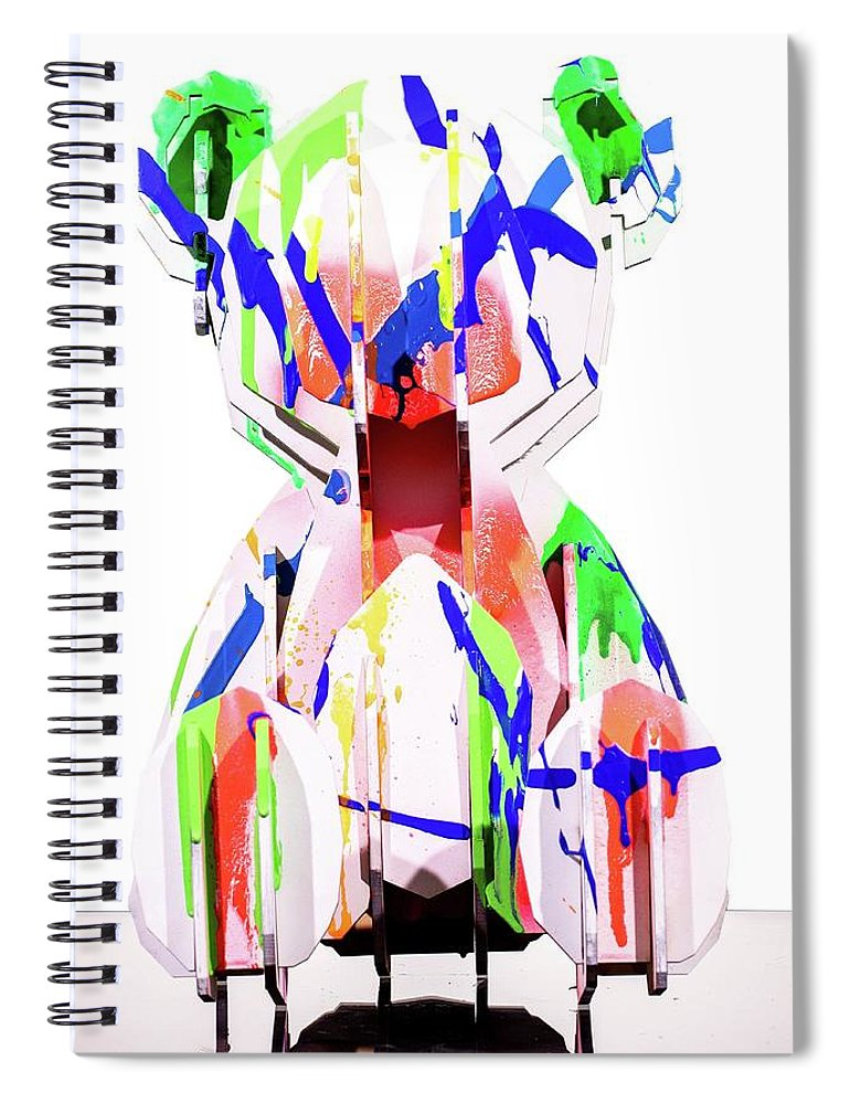 Teddy Bear - Spiral Notebook
