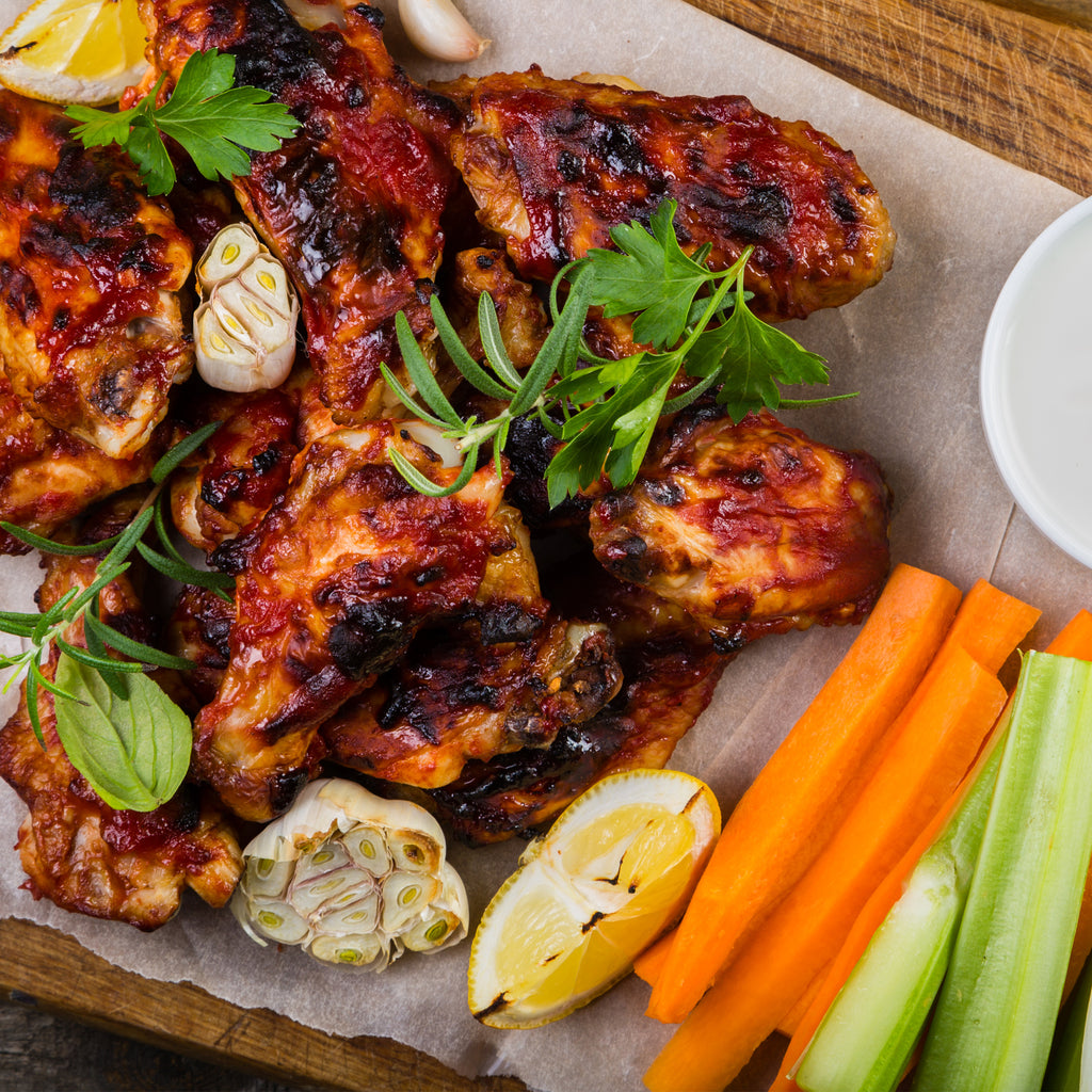 Chef Beck's Grilled Chicken Wings