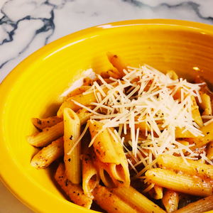 Shero Food Hero's Penne in Pink Sauce