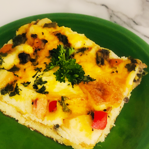 Shero Food Hero's Vegetable Strata