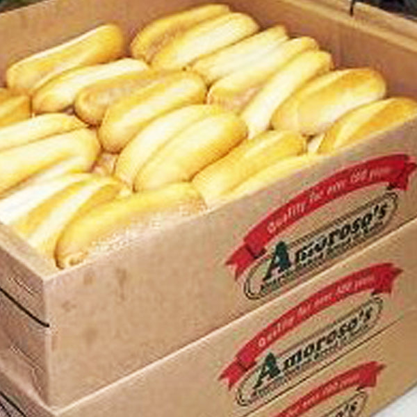"Amoroso's Hoagie Rolls 8"" (Count of 60)"