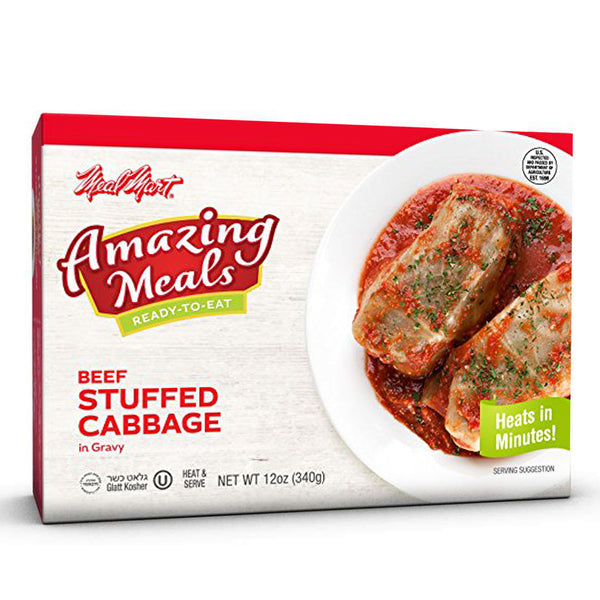 Meal Mart Amazing Meals Stuffed Cabbage Rolls, 12 Ounce Each (Pack of 12)