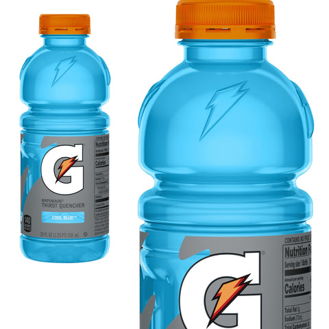 Gatorade Cool Blue, 20 Ounce Bottles (Pack of 24)