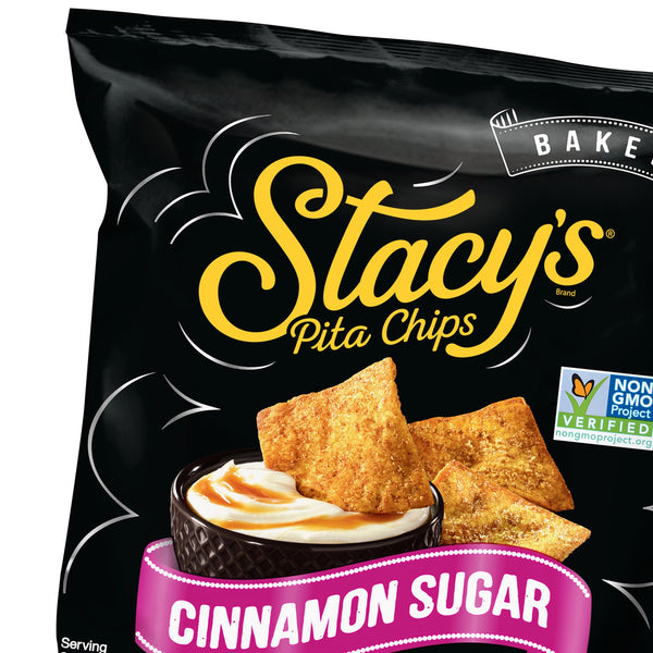Stacy's® Cinnamon Sugar Pita Chips, 1.5 Ounce Bags (Pack of 24)