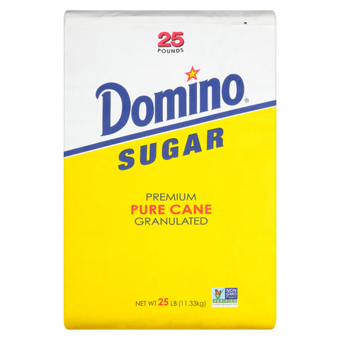 Domino® Granulated White Sugar, 25 Pound Bag
