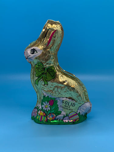 6 oz. Solid Milk Chocolate Foil Bunny