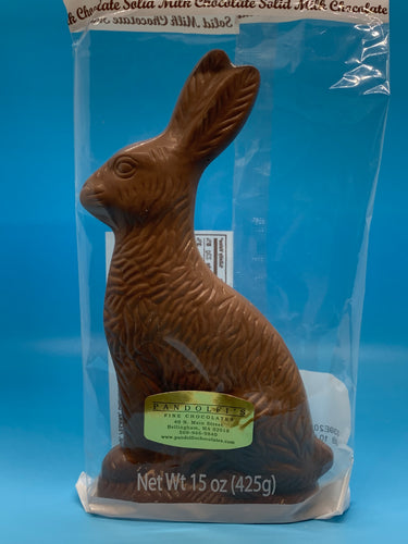 15 oz. Solid Milk Chocolate Bunny