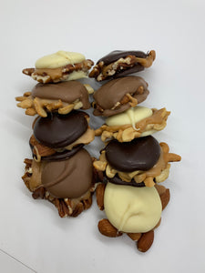 Assorted Turtles (Cashew, Pecan & Almond)