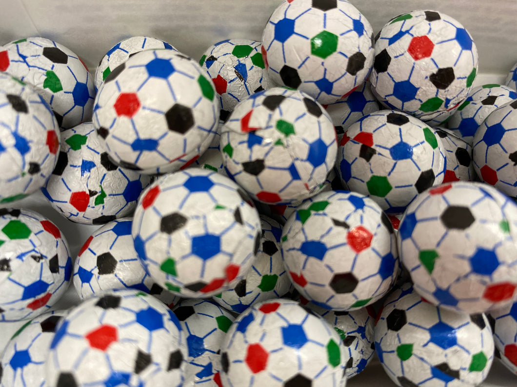 8 oz. Milk Chocolate Foiled Soccer Balls