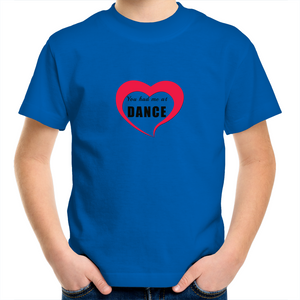 Kids Youth Crew T-Shirt - You Had Me At Dance