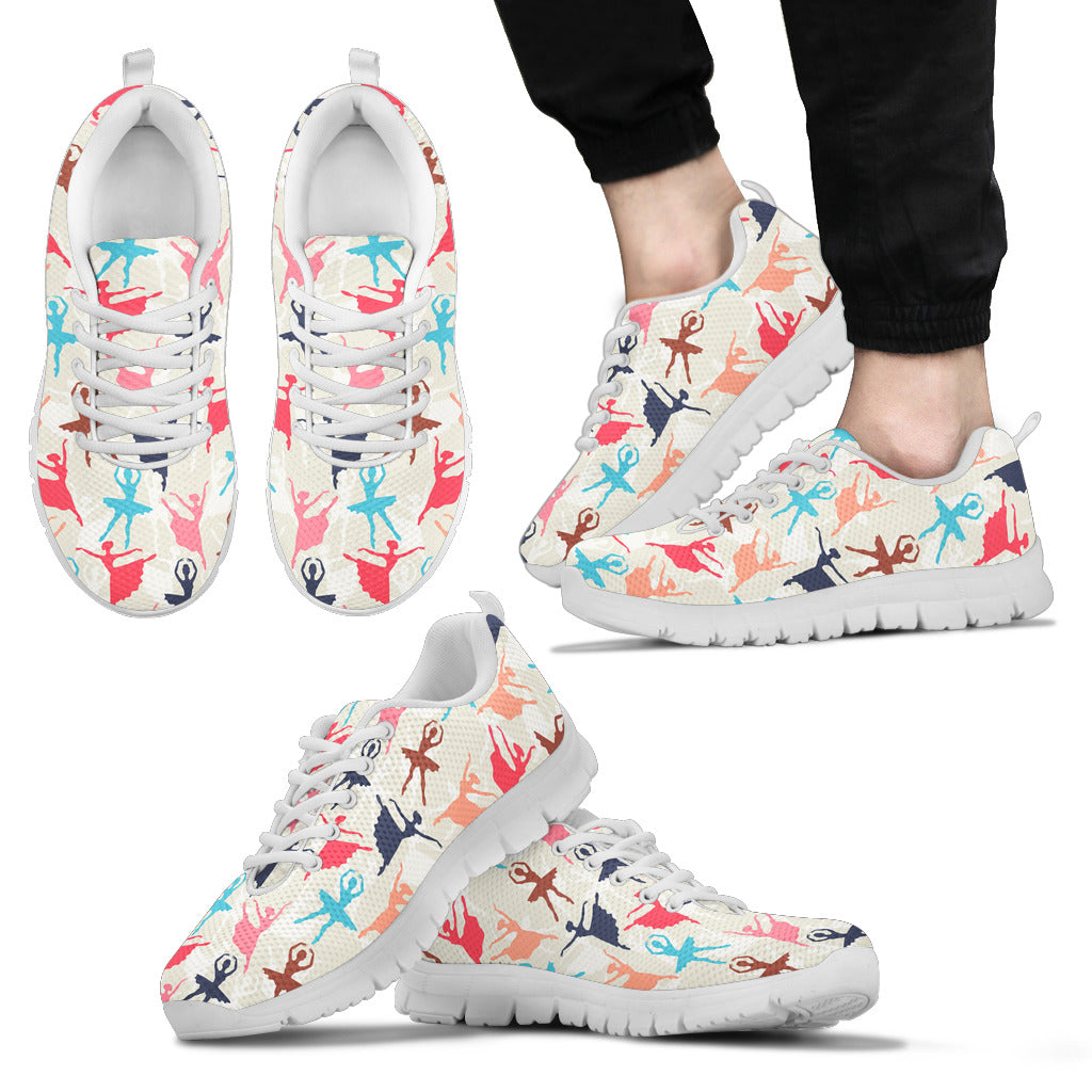 Dance pattern men's Sneakers