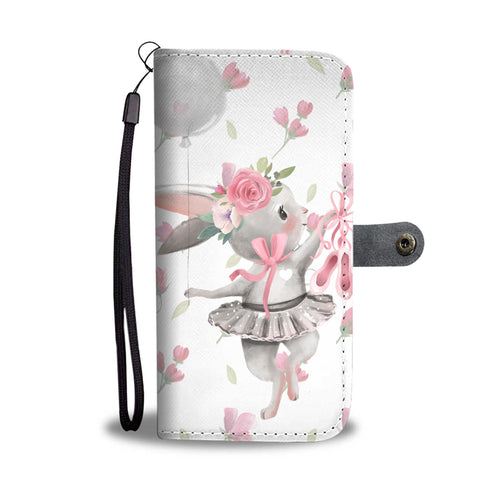 Ballet Bunny - Phone Wallet Case