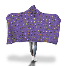 Load image into Gallery viewer, Cozy Hooded Blanket - Dance Life