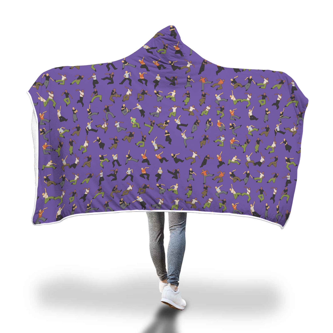 Cozy Hooded Blanket - Dance Life