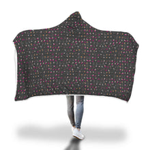 Load image into Gallery viewer, Cozy Hooded Blanket - Dance Life, BLK