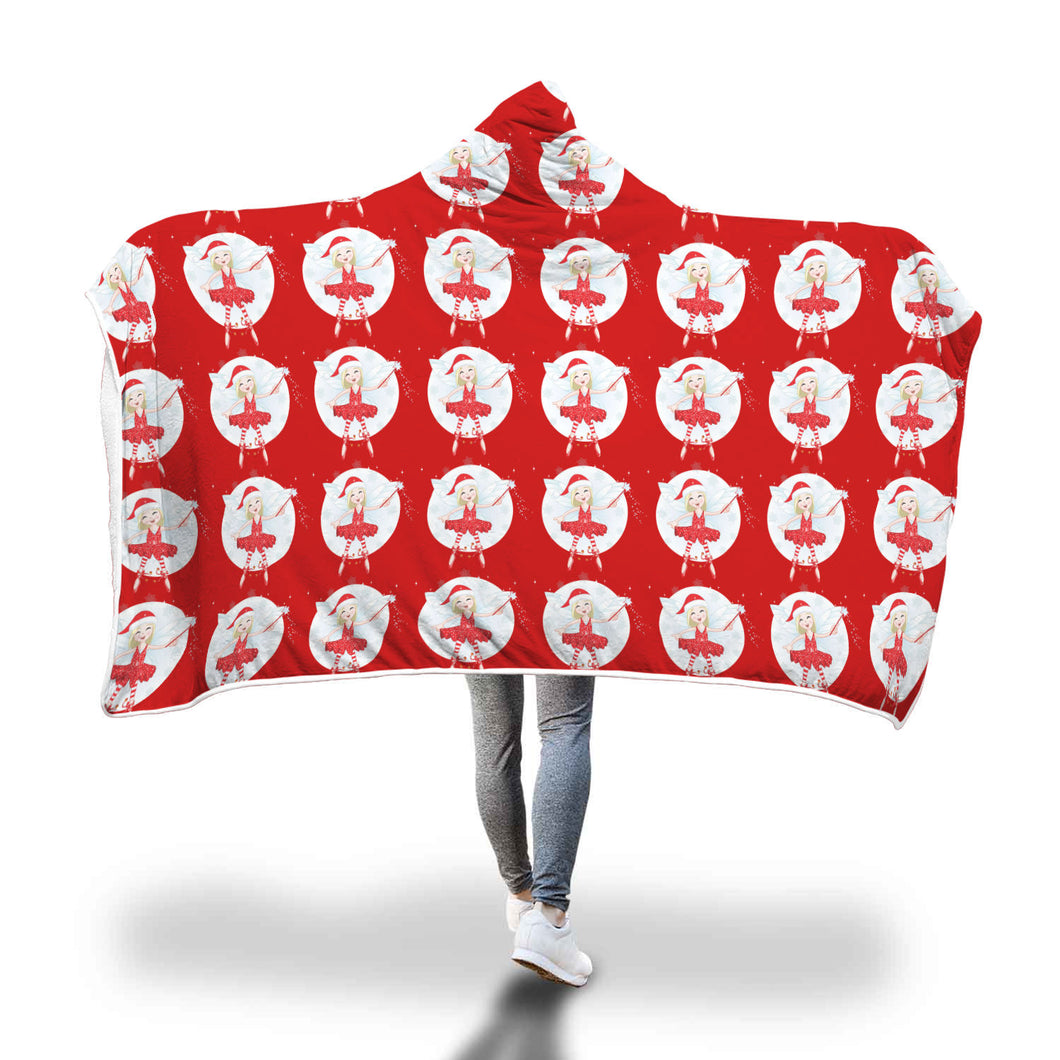 Cozy Hooded Blanket - Christmas Fairy