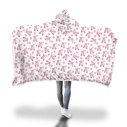 Cozy Hooded Blanket - Red Shoes