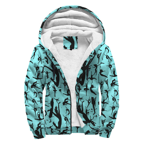 Sherpa Lined Hoodie - Silhouette Dancer