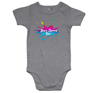 Baby All In One Romper - Boys Dance Too