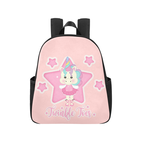 Multi-Pocket Backpack - Twinkle Toes