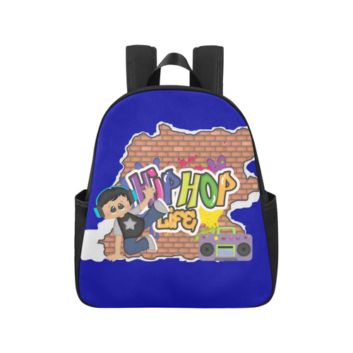 Multi-Pocket Backpack - Hip Hop Kids
