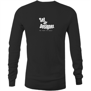 Mens Long Sleeve T-Shirt - Stage Manager