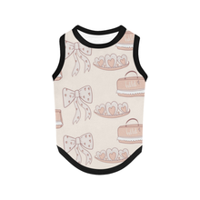 Load image into Gallery viewer, Dog Tank Top - Bows & Ballet Bags