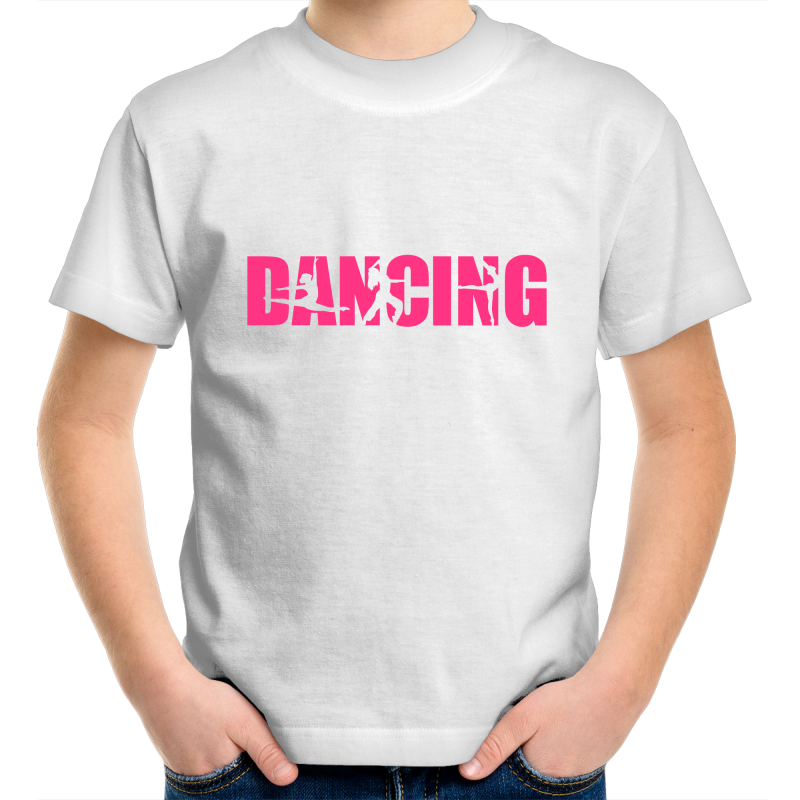 Kids Youth Crew T-Shirt - Dancing